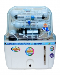 Rk Aquafresh India Az Series K200 Transparent 12Ltrs Ro Water Purifier